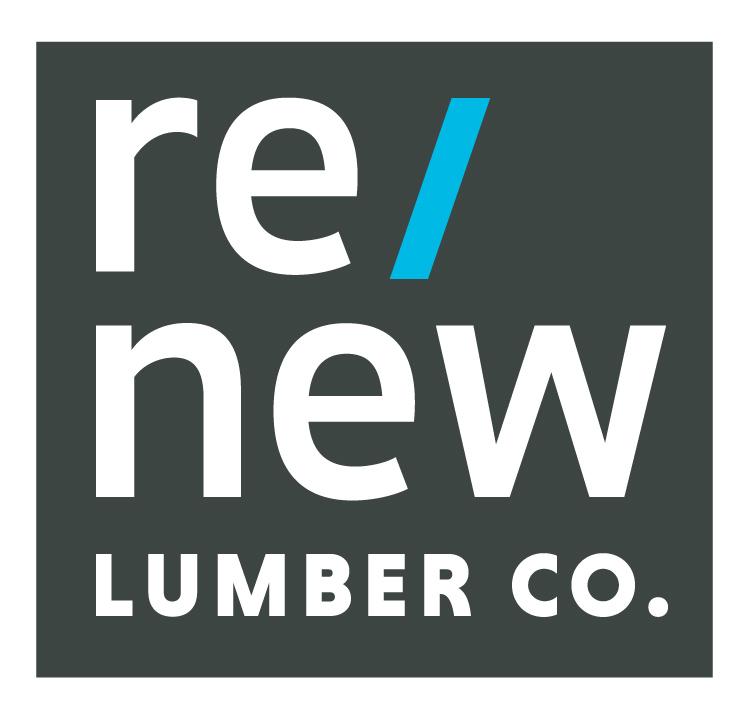 re/new lumber co. logo