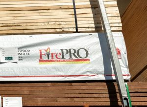 FSC-Certified Fire Retardant Treated Wood