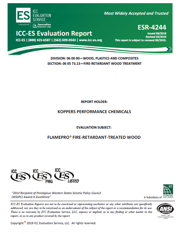 FRTW ICC Report