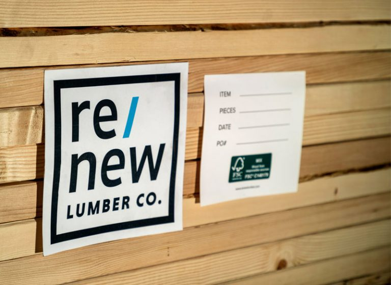Re/New Lumber Company Dimensional Lumber