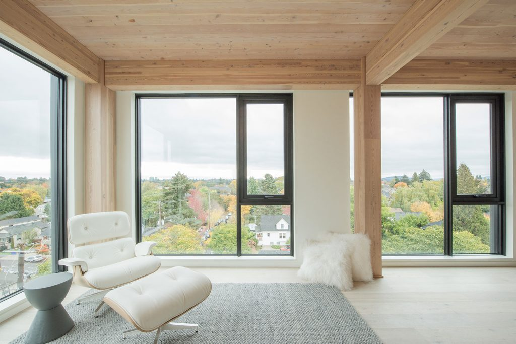mass timber construction, tall wood building